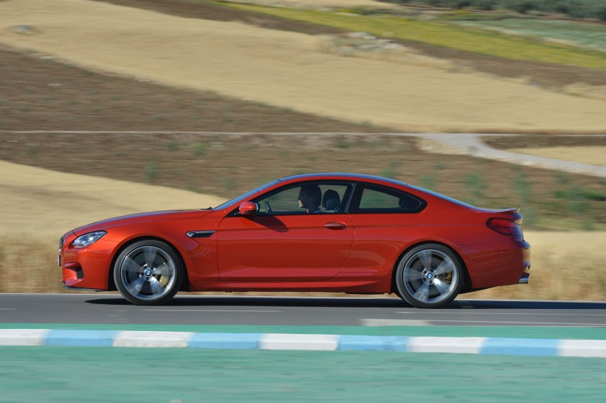 BMW M6 Coupe and Convertible – new photos Image #114206