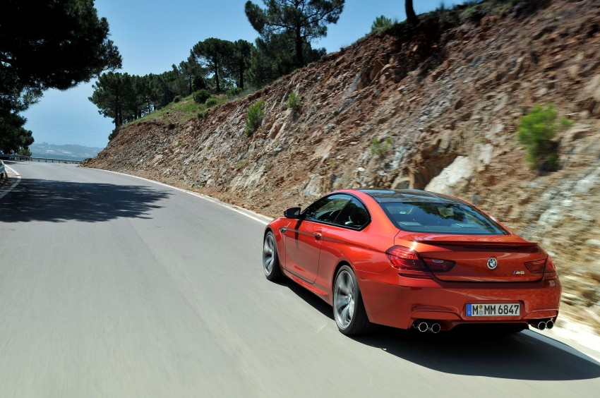 BMW M6 Coupe and Convertible – new photos Image #114208