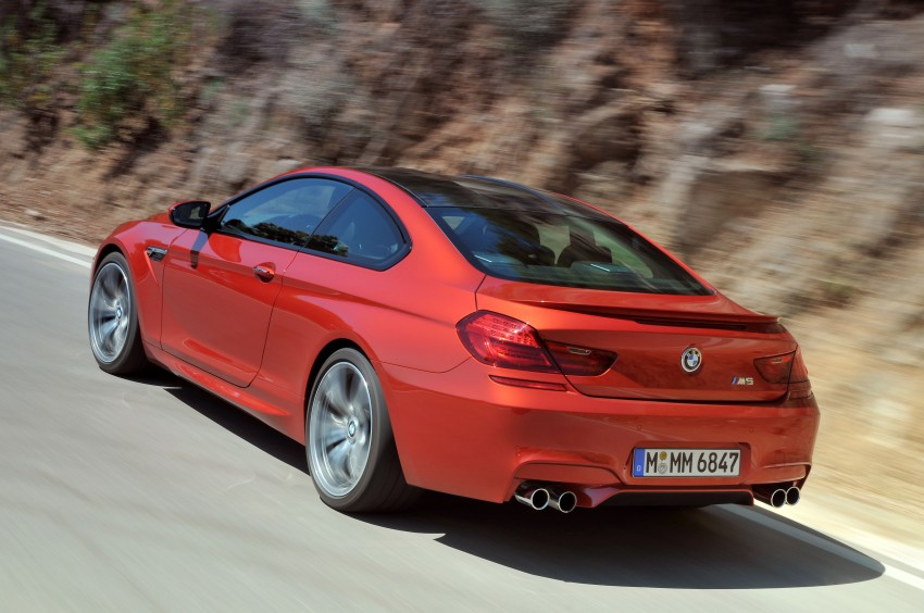 BMW M6 Coupe and Convertible – new photos Image #114209