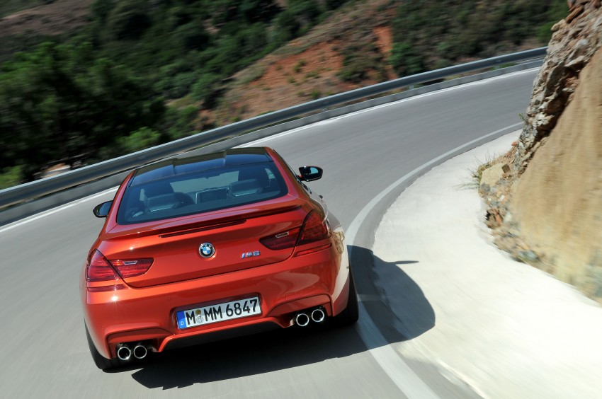 BMW M6 Coupe and Convertible – new photos Image #114211
