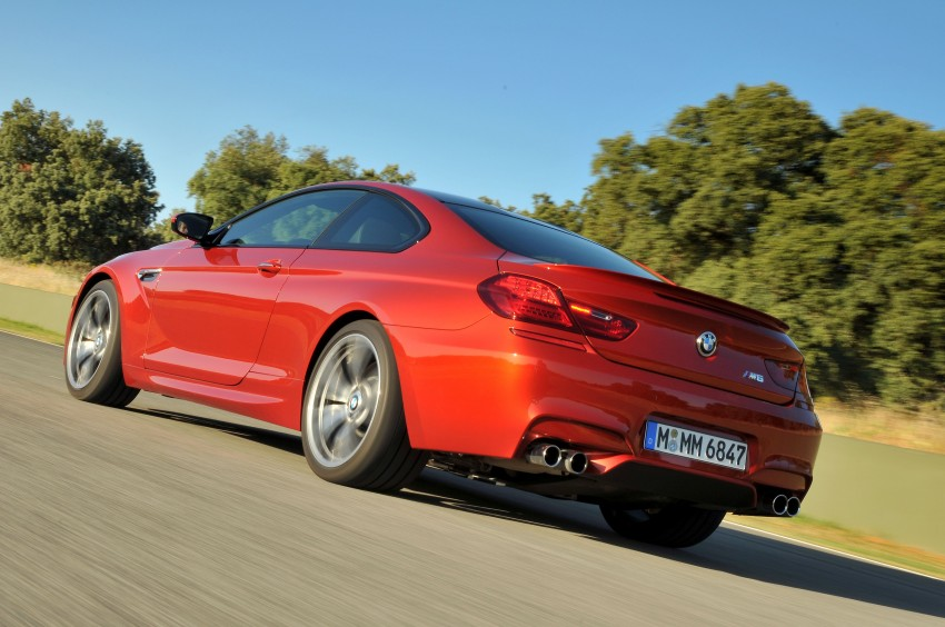 BMW M6 Coupe and Convertible – new photos Image #114212