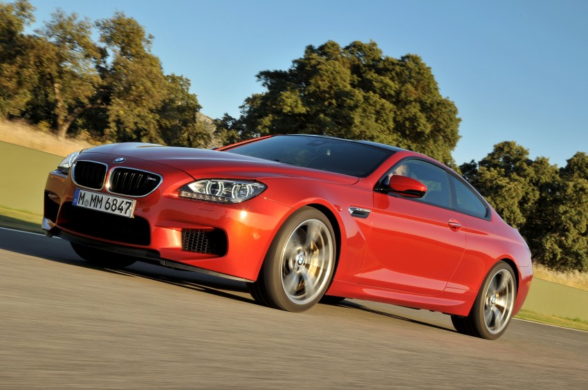 BMW M6 Coupe and Convertible – new photos Image #114213