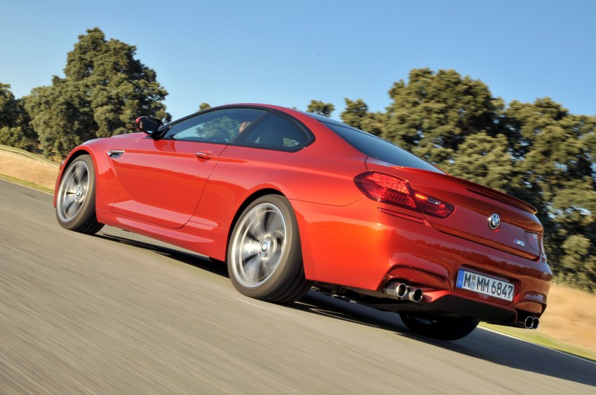 BMW M6 Coupe and Convertible – new photos Image #114214
