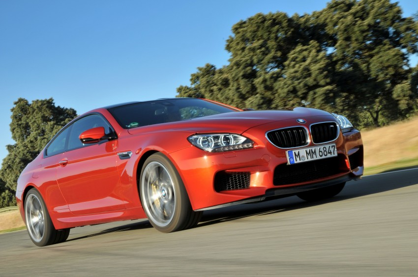 BMW M6 Coupe and Convertible – new photos Image #114216