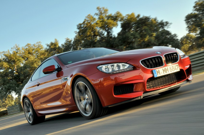 BMW M6 Coupe and Convertible – new photos Image #114217
