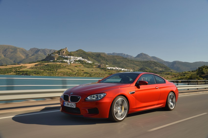 BMW M6 Coupe and Convertible – new photos Image #114218