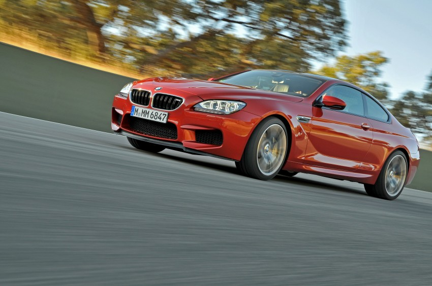 BMW M6 Coupe and Convertible – new photos Image #114220