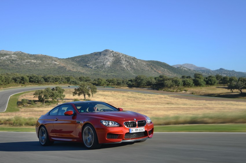 BMW M6 Coupe and Convertible – new photos Image #114223