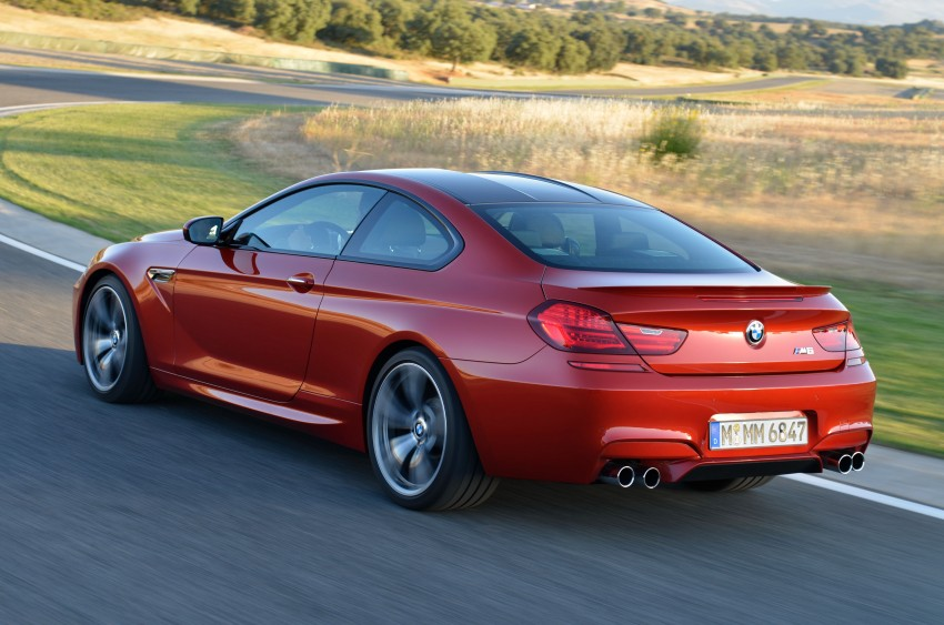 BMW M6 Coupe and Convertible – new photos Image #114225
