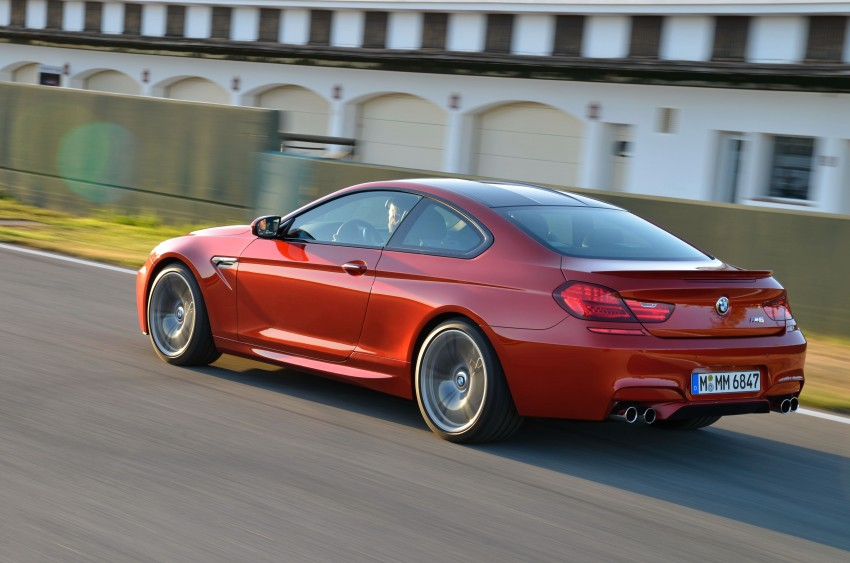 BMW M6 Coupe and Convertible – new photos Image #114226
