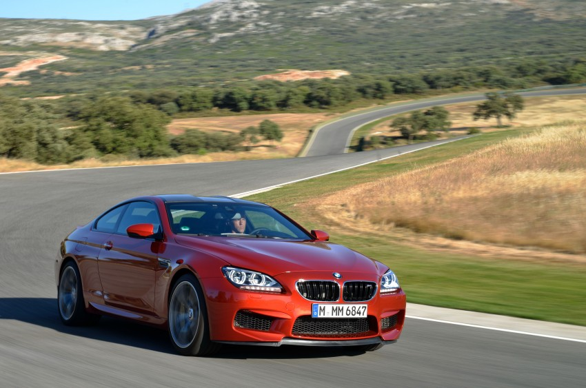 BMW M6 Coupe and Convertible – new photos Image #114228