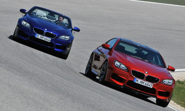 BMW M6 Coupe and Convertible – new photos Image #121365