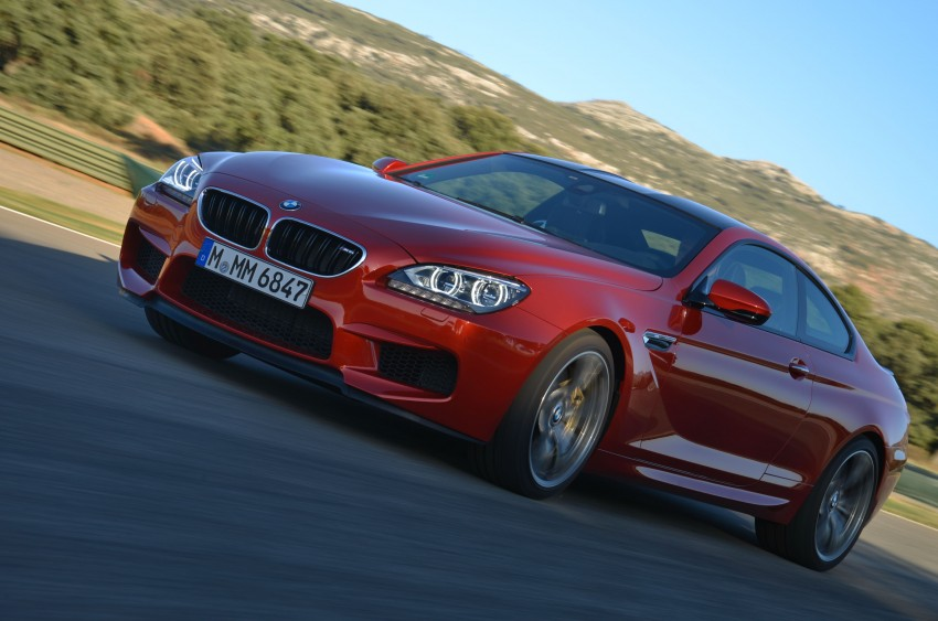 BMW M6 Coupe and Convertible – new photos Image #114230