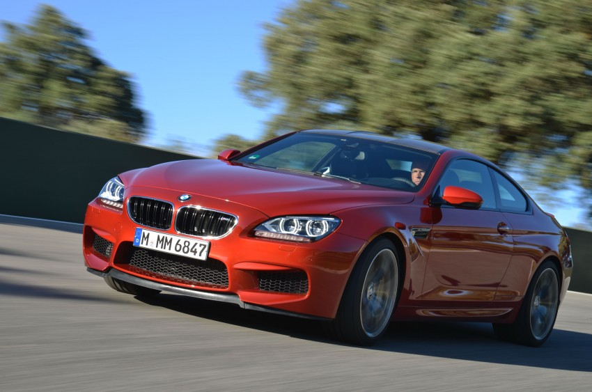 BMW M6 Coupe and Convertible – new photos Image #114231