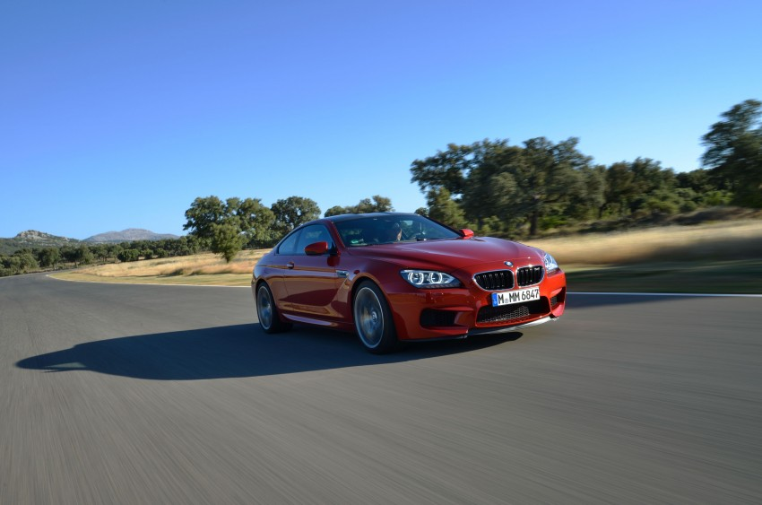 BMW M6 Coupe and Convertible – new photos Image #114232