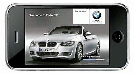 BMW TV iPhone App