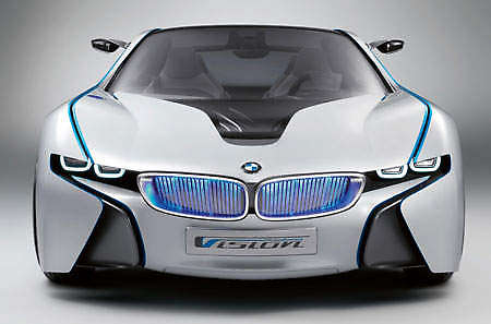 Diesel-electric powered 2009 BMW Vision EfficientDynamics Concept ...