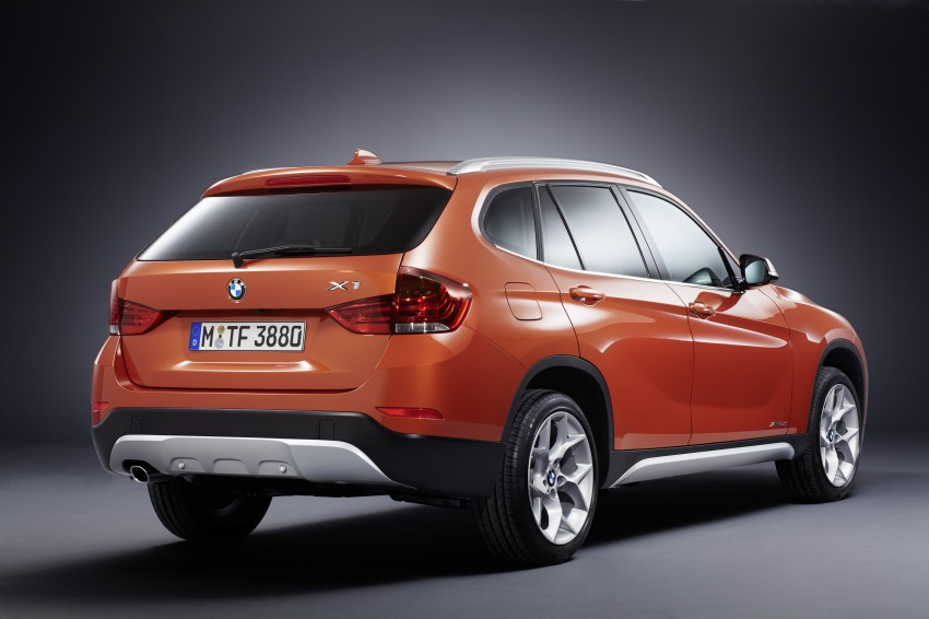 BMW X1 facelifted – xLine and Sport Line introduced Image #104145