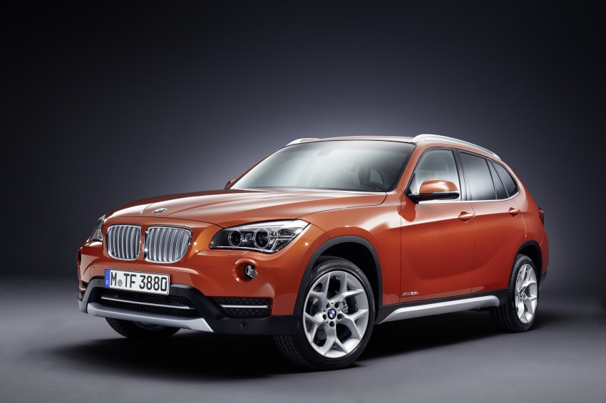 BMW X1 facelifted – xLine and Sport Line introduced Image #104147
