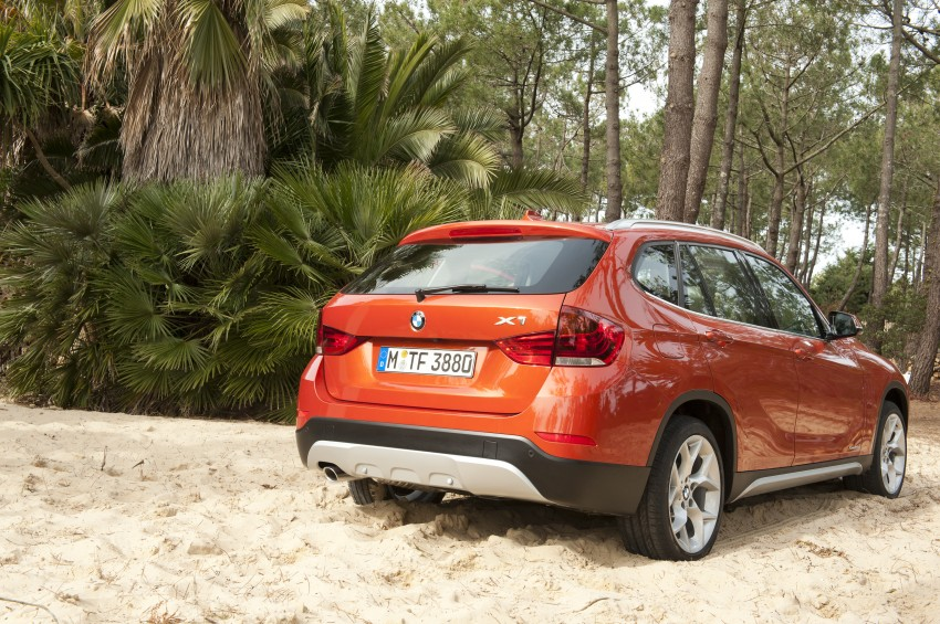 BMW X1 facelifted – xLine and Sport Line introduced Image #104163