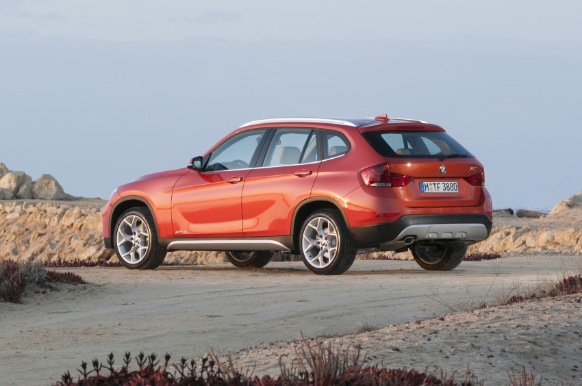 BMW X1 facelifted – xLine and Sport Line introduced Image #104177