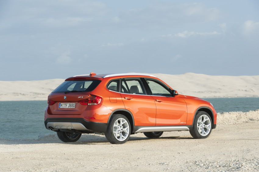 BMW X1 facelifted – xLine and Sport Line introduced Image #104183