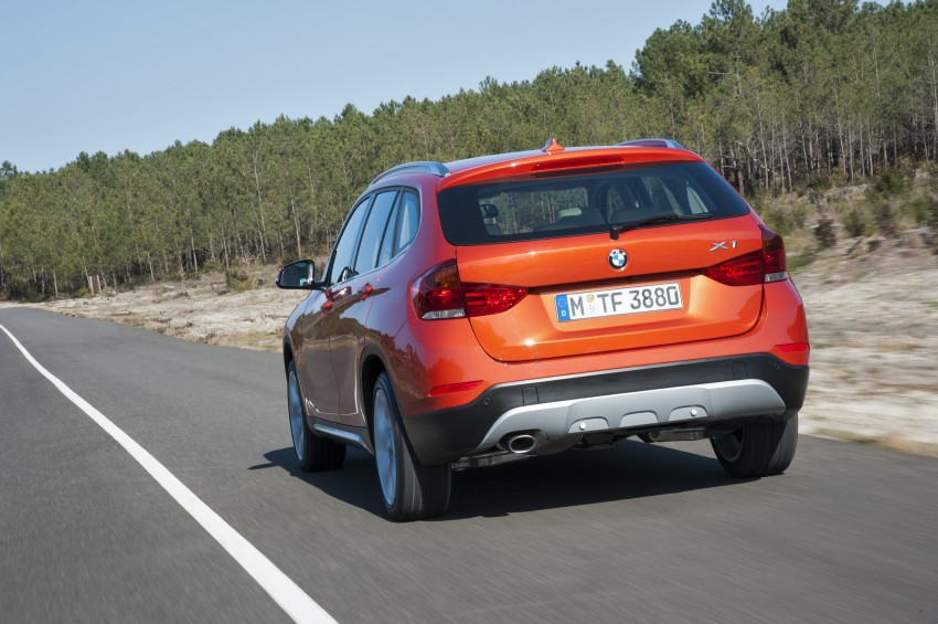 BMW X1 facelifted – xLine and Sport Line introduced Image #104197