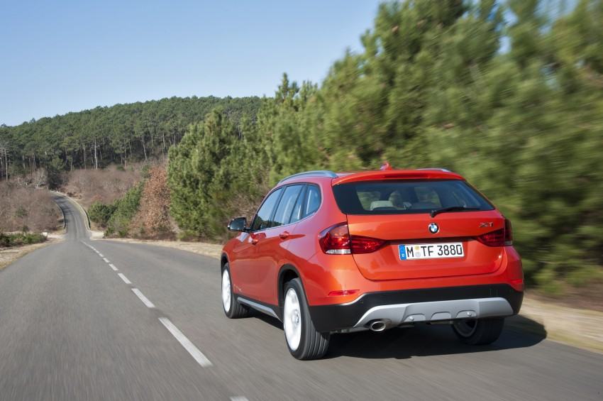 BMW X1 facelifted – xLine and Sport Line introduced Image #104199