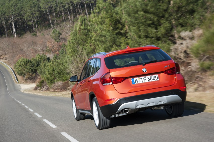 BMW X1 facelifted – xLine and Sport Line introduced Image #104200