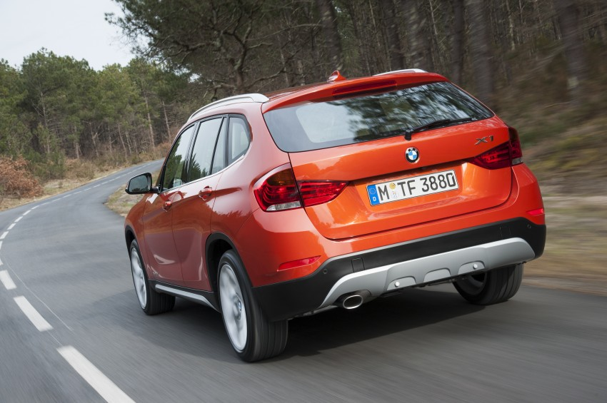 BMW X1 facelifted – xLine and Sport Line introduced Image #104201