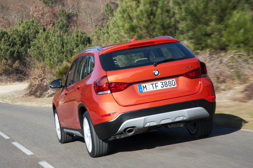 BMW X1 facelifted – xLine and Sport Line introduced Image #104202