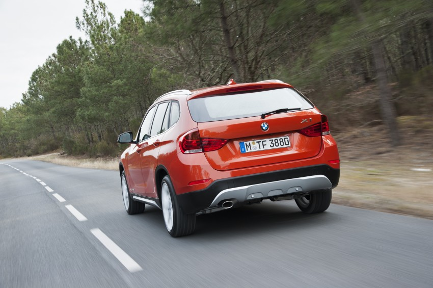 BMW X1 facelifted – xLine and Sport Line introduced Image #104203