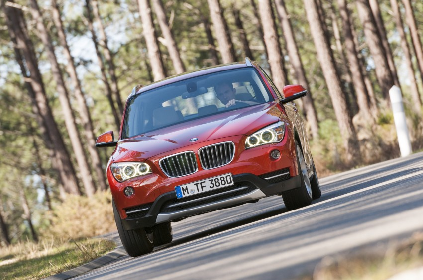 BMW X1 facelifted – xLine and Sport Line introduced Image #104204