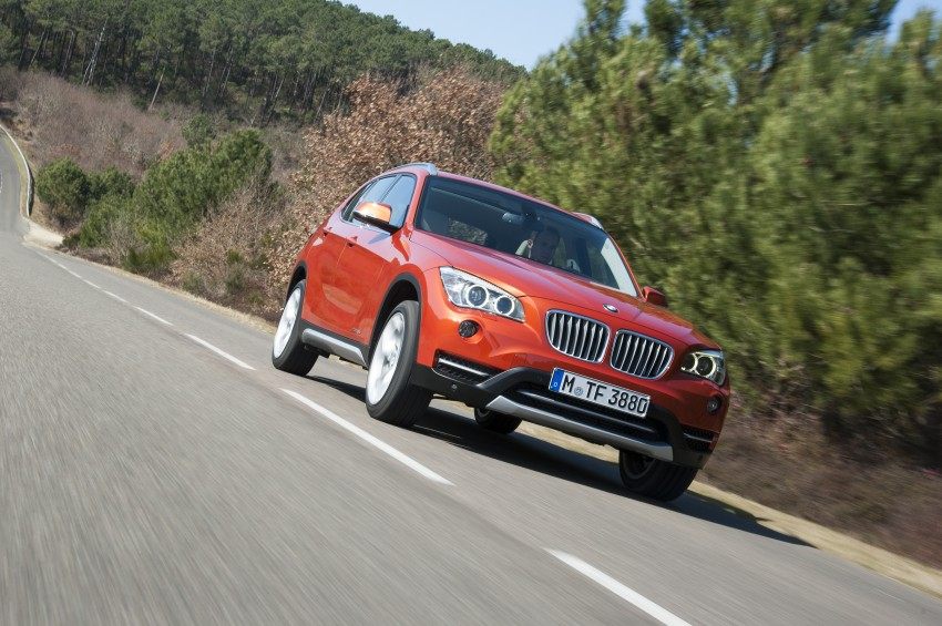 BMW X1 facelifted – xLine and Sport Line introduced Image #104205