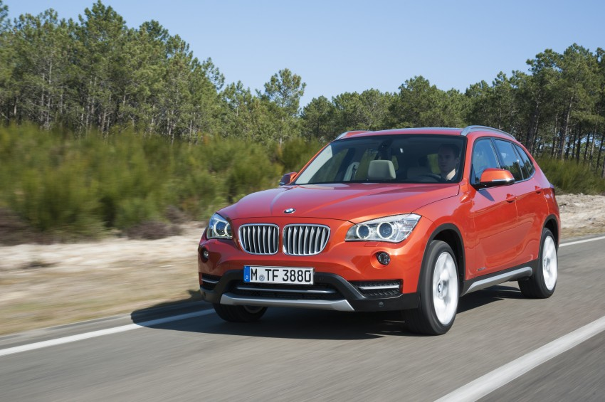 BMW X1 facelifted – xLine and Sport Line introduced Image #104206