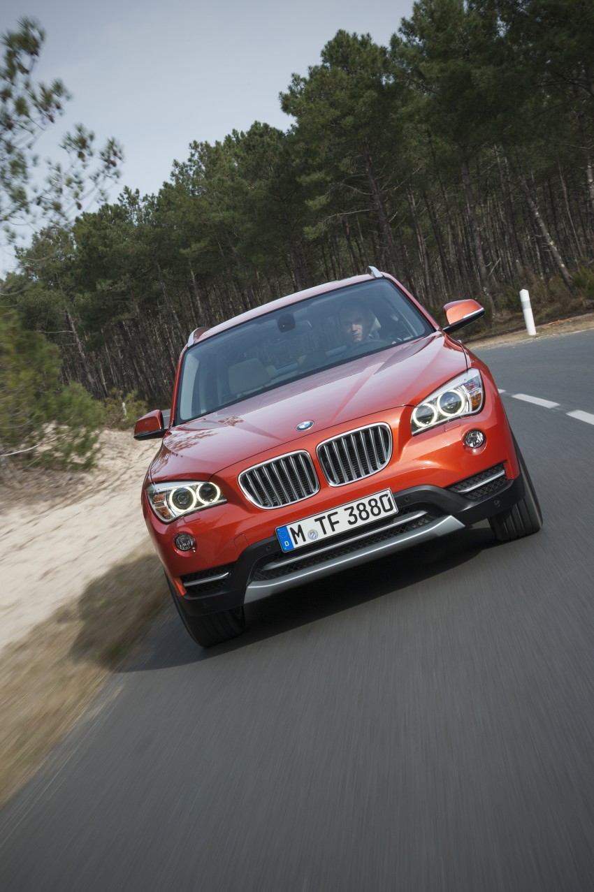 BMW X1 facelifted – xLine and Sport Line introduced Image #104207