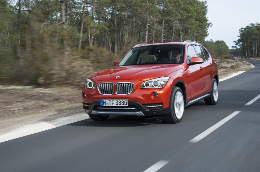 BMW X1 facelifted – xLine and Sport Line introduced Image #104208