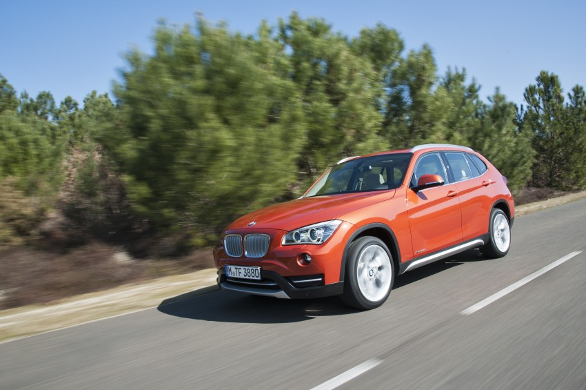 BMW X1 facelifted – xLine and Sport Line introduced Image #104209