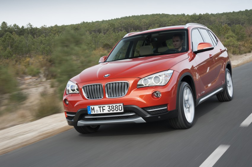 BMW X1 facelifted – xLine and Sport Line introduced Image #104211