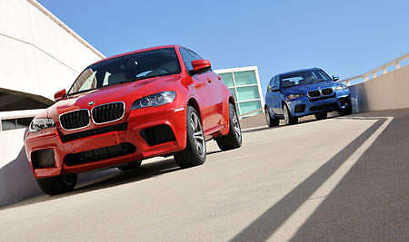 BMW X6 M and X5 M