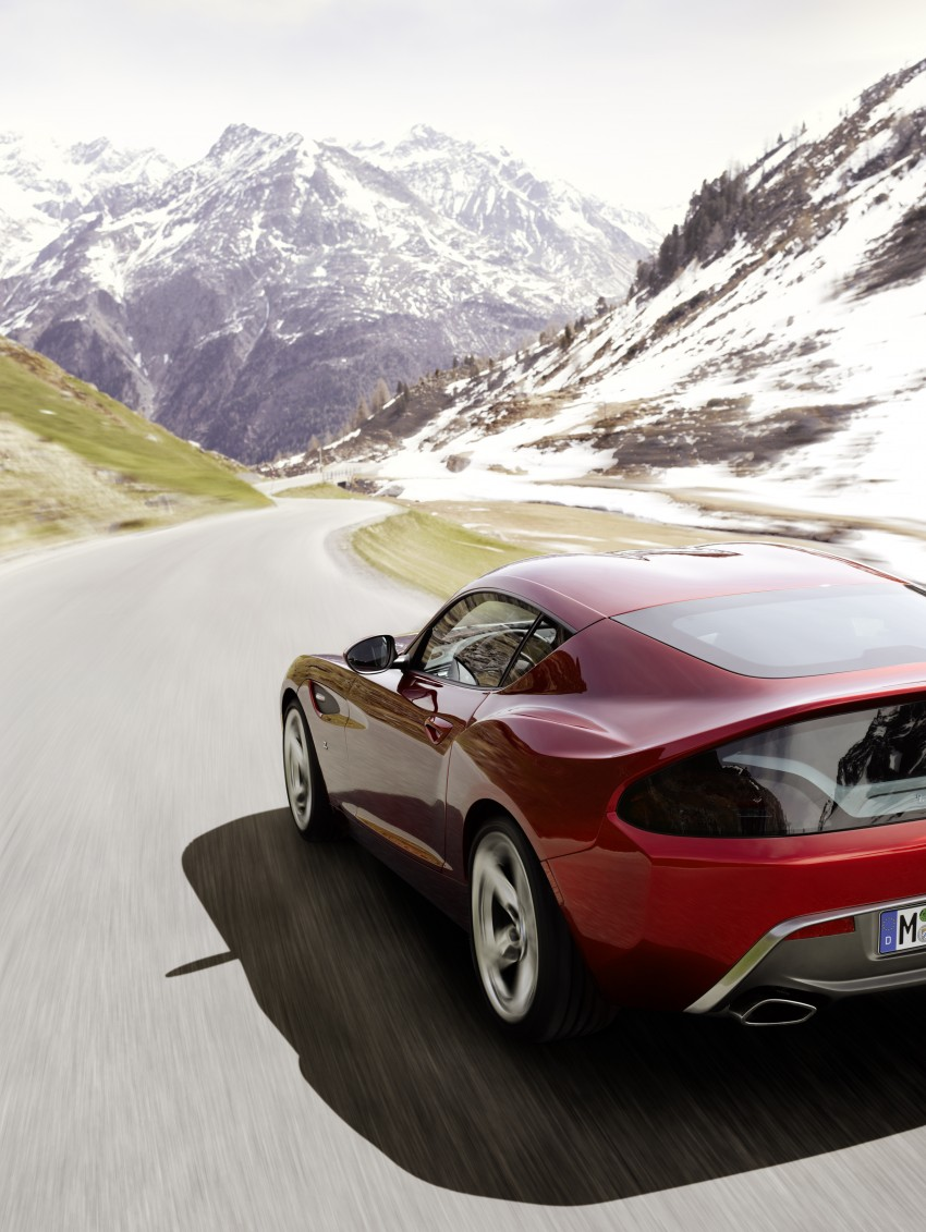 BMW Zagato Coupe injects more sexy into the Z4 Image #108557