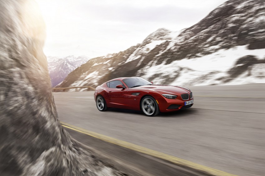 BMW Zagato Coupe injects more sexy into the Z4 Image #108559