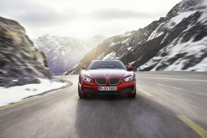 BMW Zagato Coupe injects more sexy into the Z4 Image #108560