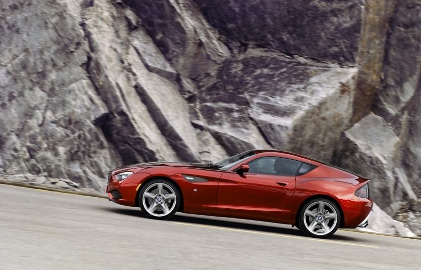 BMW Zagato Coupe injects more sexy into the Z4 Image #108561