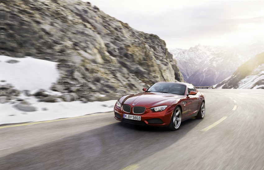 BMW Zagato Coupe injects more sexy into the Z4 Image #108568