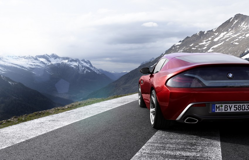 BMW Zagato Coupe injects more sexy into the Z4 Image #108569