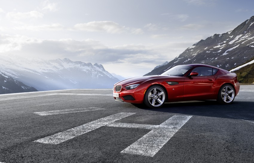 BMW Zagato Coupe injects more sexy into the Z4 Image #108570