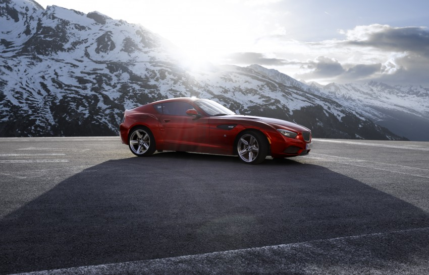 BMW Zagato Coupe injects more sexy into the Z4 Image #108574