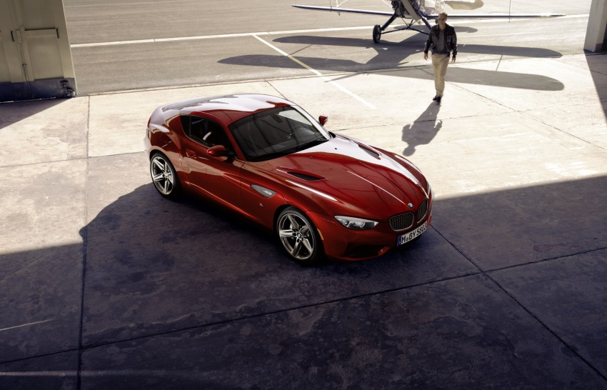 BMW Zagato Coupe injects more sexy into the Z4 Image #108575