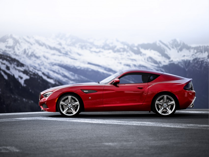 BMW Zagato Coupe injects more sexy into the Z4 Image #108576